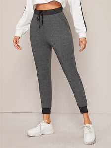 High Waist Trousers Fitness - dealod