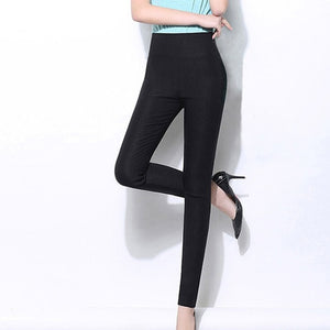 Pencil Pants Casual Elastic Waist - dealod