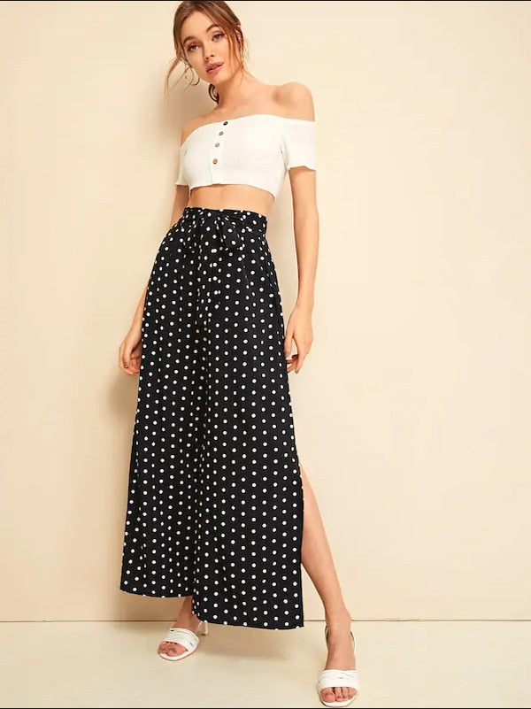 Wide Leg Pants High Waist Loose - dealod