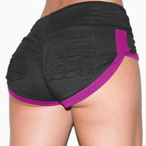 Shorts Hight Waist Elastis Waist - dealod