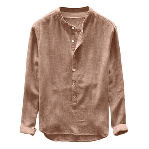Men Shirt Long Sleeve
