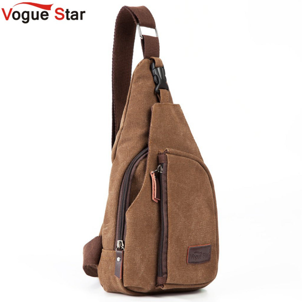 Canvas Messenger Travel  Military  Shoulder Bag - dealod