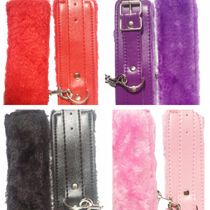 PU Leather Cuffs toys for Couples 4 Colors - dealod.com