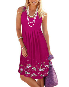 Sleeveless Short Dress - dealod