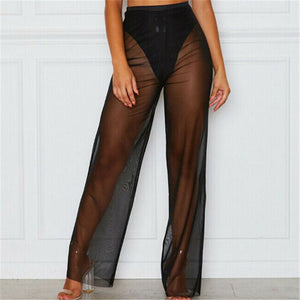 Pants Sheer Mesh - dealod