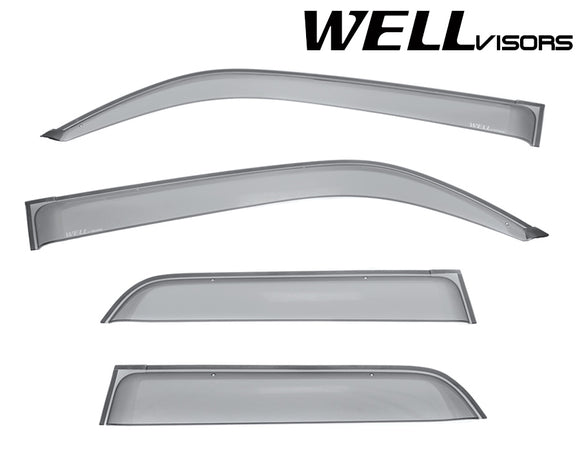 WELL VISORS TOYOTA 4RUNNER 10-18 PREMIUM SERIES