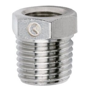 "AIR SUSPENSION 1/2"" Female NPT Coupler Nickel Plated"