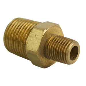 "AIR SUSPENSION 1/2"" Male to 3/8"" Male Reducing Hex Nipple"