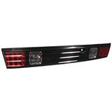SPYDER AUTO Nissan 240SX 95-98 LED Tail Lights - Black