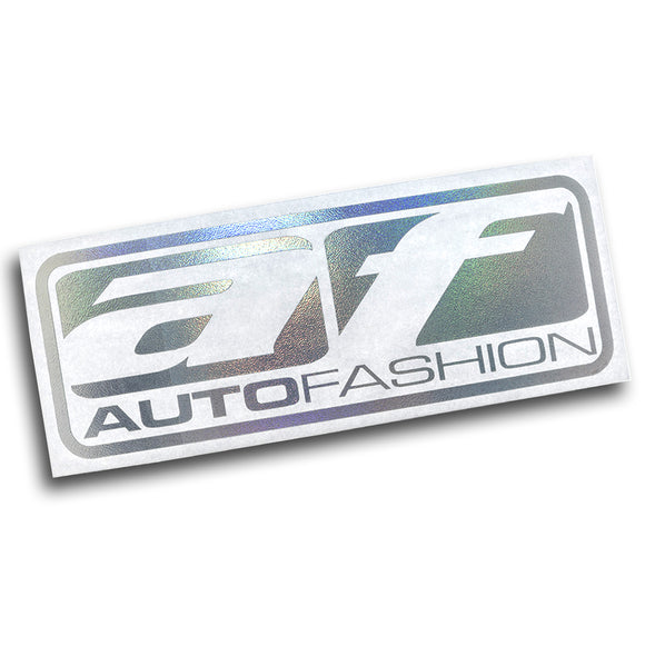 AF DIE CUT STICKER - LIMITED COLOR