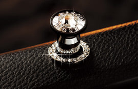DAD LUXURY CRYSTAL DOOR LOCK RING