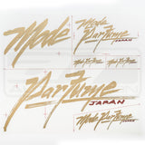 MODE PARFUME BRUSH STICKER PACK