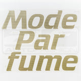 MODE PARFUME WINDSHIELD BANNER STICKER