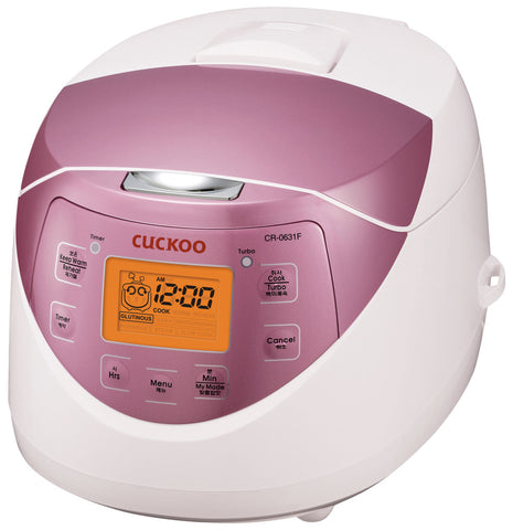 Cuckoo 6 Cups Electronic Rice Cooker (CR-0631F)