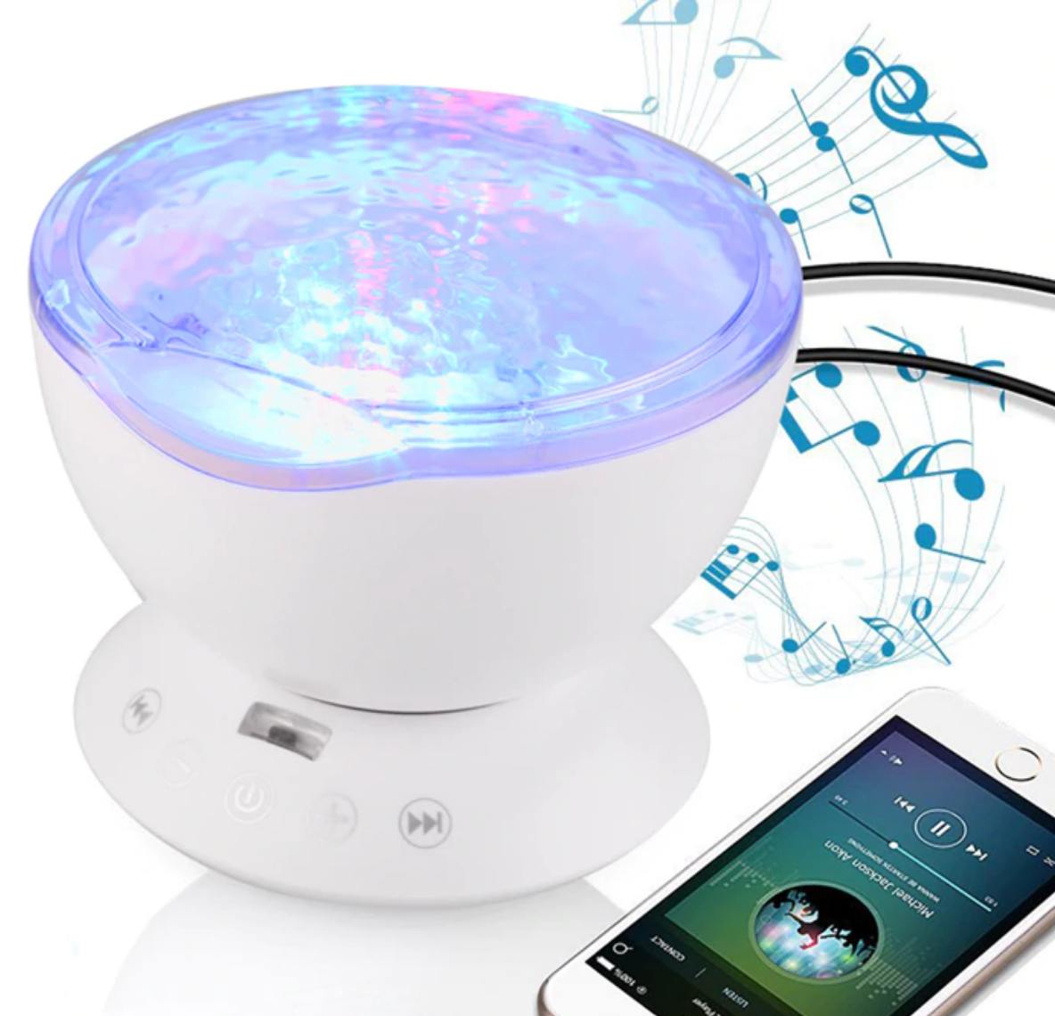 Galaxy Projector with Built in Sound