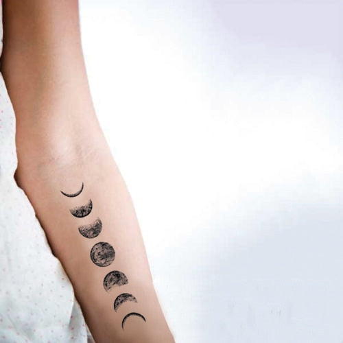 Moon Phase Tattoo