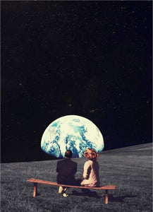 Surrealisme Moon Prints