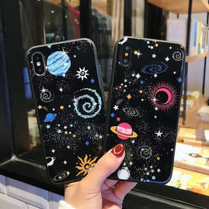 Cartoon Space Case