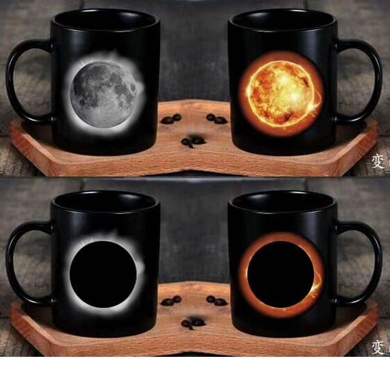 Color Changing Eclipse Mug