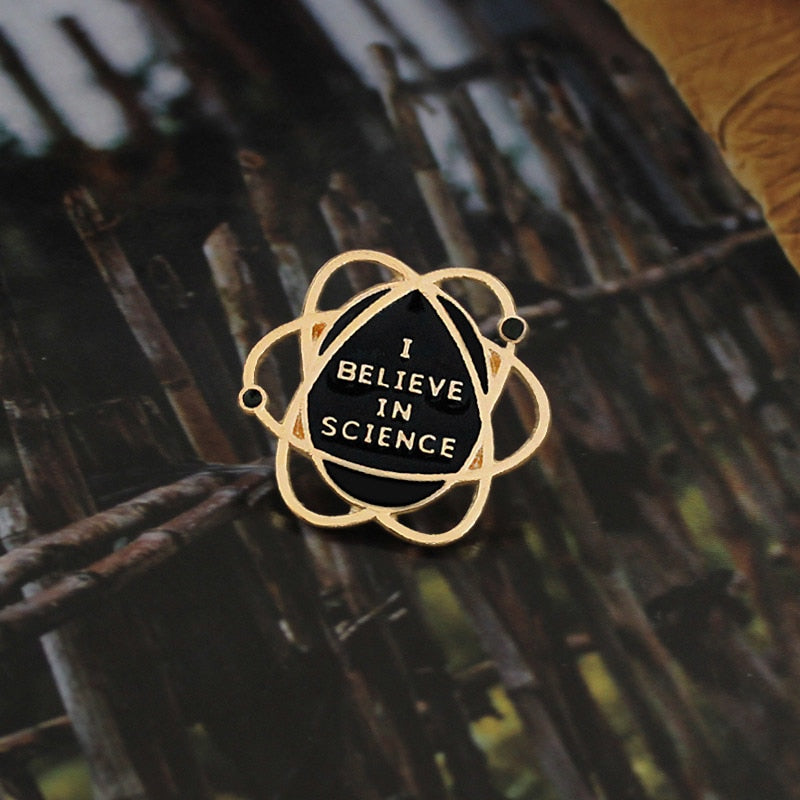 I Believe In Science Pin
