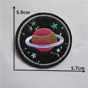 Space Patches (iron on)