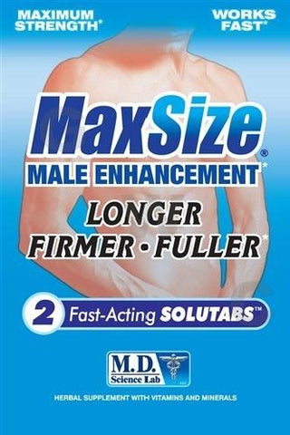 MaxSize Male Enhancement