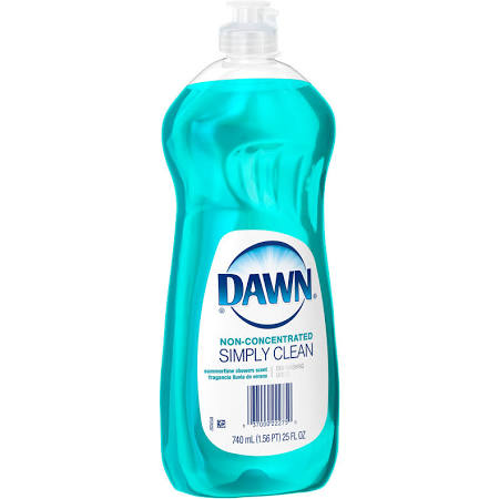Dawn Simply Clean Dishwashing Liquid Dish Soap