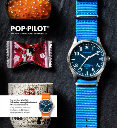 Airline KIX POP-PILOT®, 42mm ø