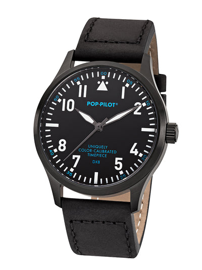 POP-PILOT® DXB, 42mm ø LEATHER STRAP