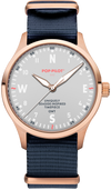 POP-PILOT® GWT (SYLT) rose gold, 42mmø