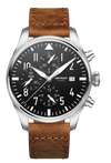 POP-PILOT® HAM Black 7750 Chrono 44mm ø