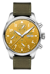 POP-PILOT® HAM Mustard 7750 Chrono 44mm ø