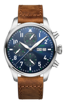 POP-PILOT® HAM Blue/Green 7750 Chrono 44mm ø