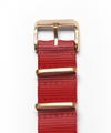 POP-PILOT® Natostrap, Dark-Red, rose buckle