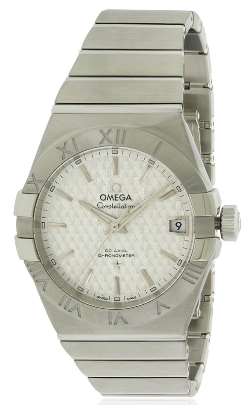 Omega Constellation Chronometer Automatic Mens Watch 123.10.38.21.02.003