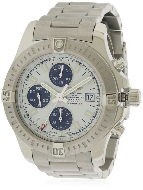 Breitling Colt Chronometer Automatic Chronograph Mens Watch A1338811/G804