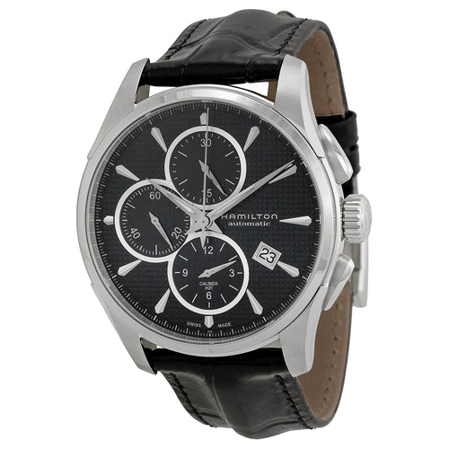 Hamilton Jazzmaster Automatic Leather Chronograph Mens Watch H32596731
