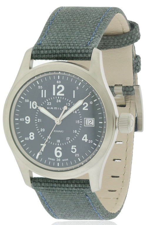 Hamilton Khaki Field Canvas Mens Watch H68201943