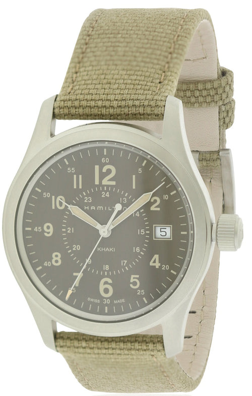Hamilton Khaki Field Canvas Mens Watch H68201993