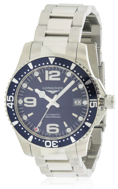 Longines HydroConquest Automatic Stainless Steel Mens Watch L37414966