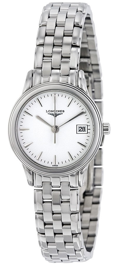 Longines Flagship Stainless Steel Ladies Watch L42164126