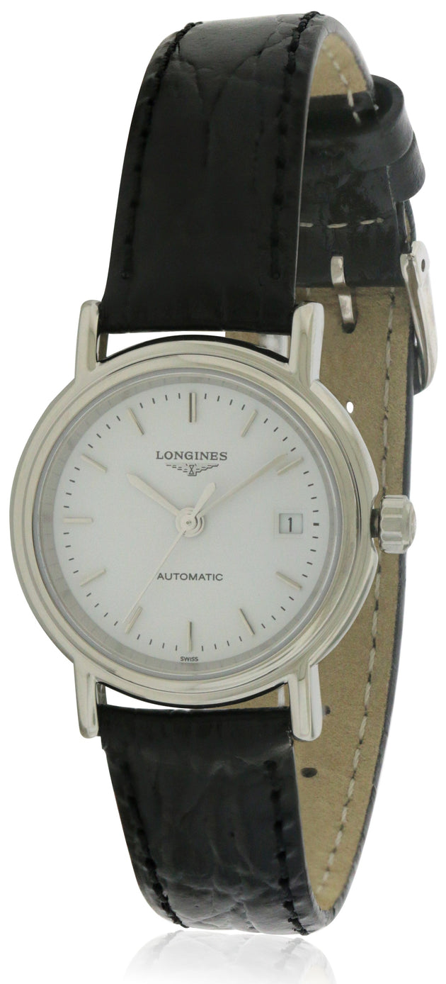 Longines Presence Automatic Leather Ladies Watch L43214122