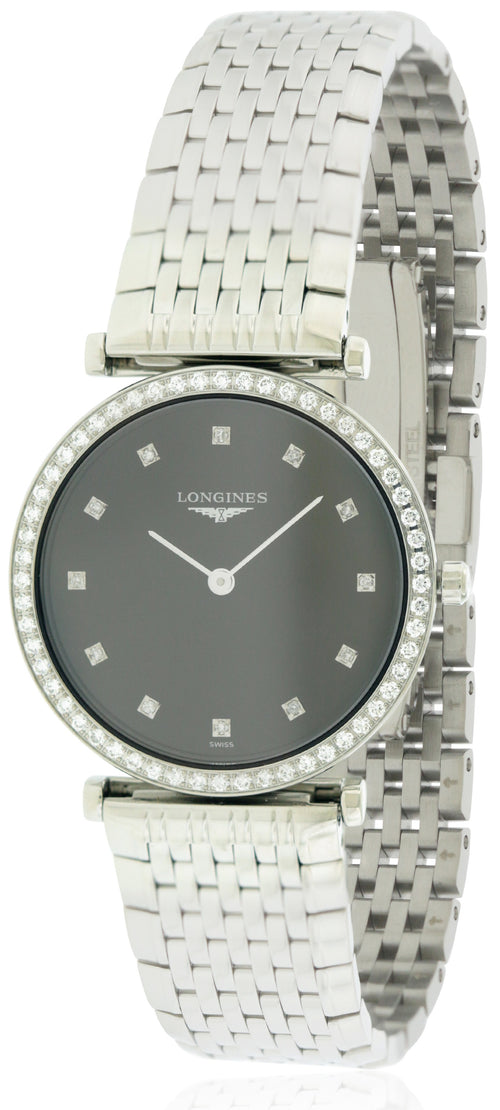 Longines Grande Classique Stainless Steel Ladies Watch L45130586