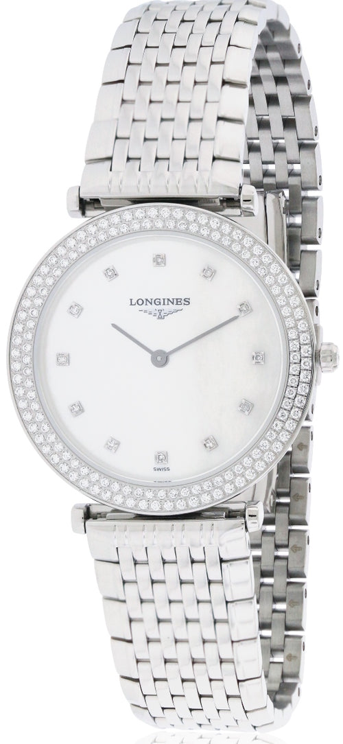 Longines La Grande Classique Diamond Ladies Watch L45150876