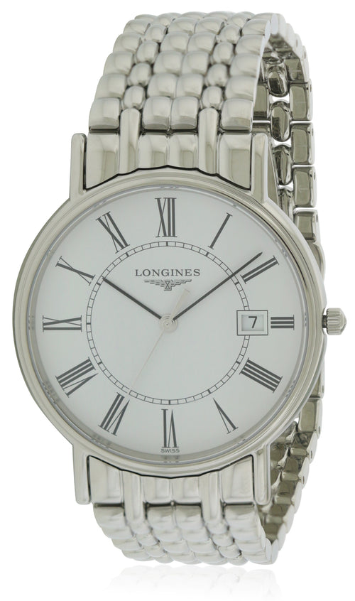 Longines La Grande Classique Presence Stainless Steel Mens Watch L47904116