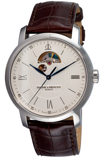 Baume and Mercier Classima Leather Automatic Mens Watch MOA08688