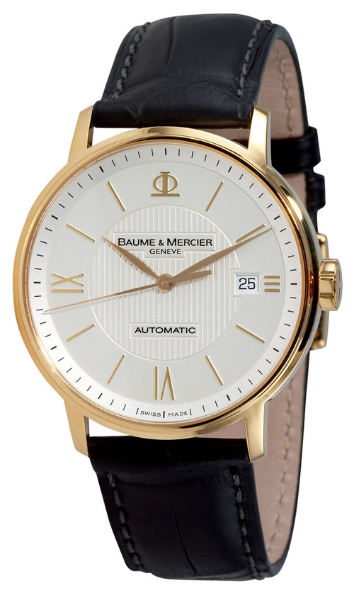 Baume and Mercier Classima 18K Gold Automatic Mens Watch MOA08787