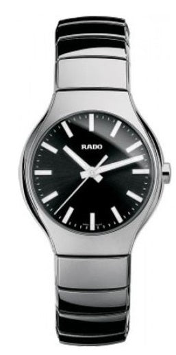 Rado True Silver -Tone Ceramic Unisex Watch R27656162