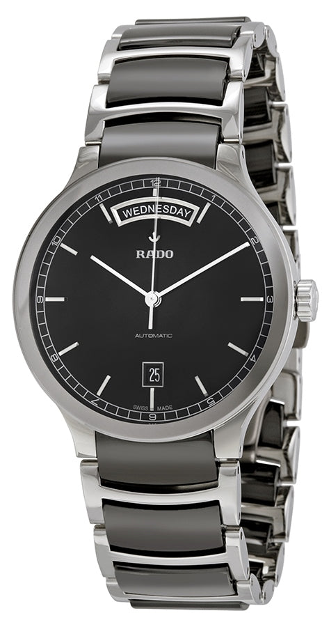 4159fa01a Heritage Luxury Timepieces. Regular price $989.00 USD. Rado Centrix  Stainless Steel and Black Ceramic Automatic Mens Watch R30156152