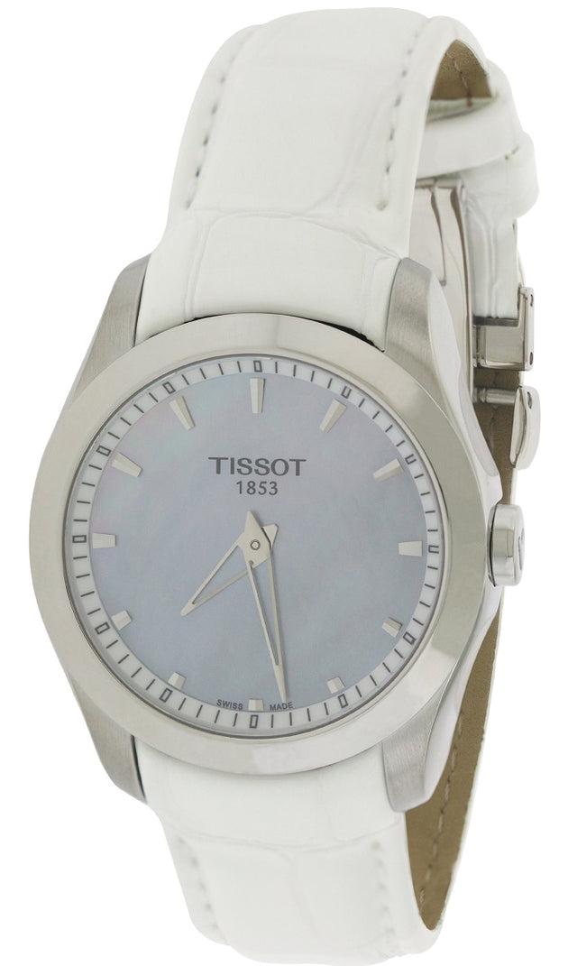 Tissot Couturier Grande Automatic Leather Ladies Watch T0352461611100